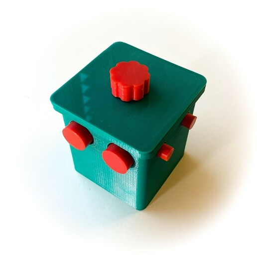 IMG_0892_small.jpg Download free STL file Ball Lock Puzzle • 3D printer design, mtairymd