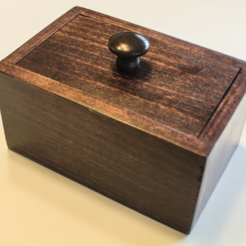 Free 3D printer designs Nail Puzzle Box, mtairymd