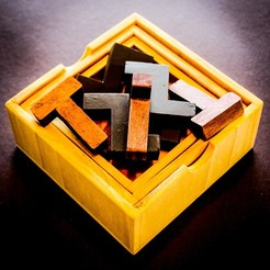 3D print files T & Z PUZZLE, mtairymd
