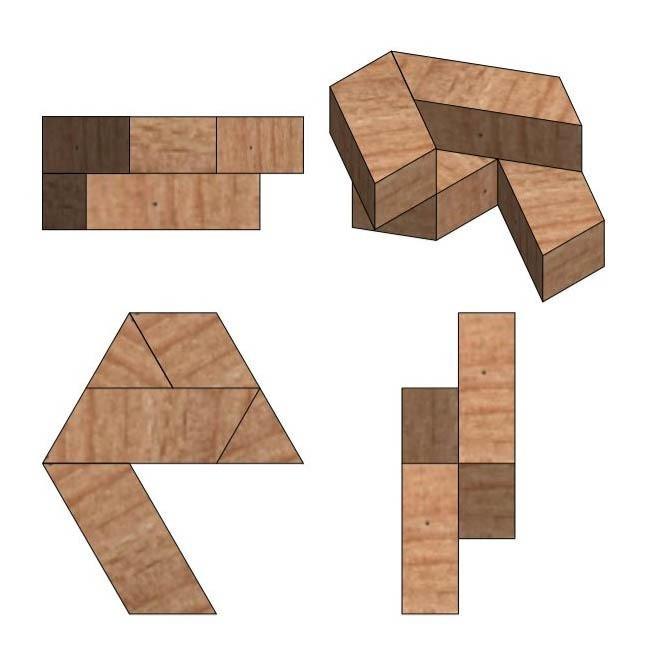 5.jpg Télécharger fichier STL gratuit Puzzle hexagonal • Modèle pour imprimante 3D, mtairymd