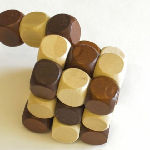 F645ELDJ8F64D4R.MEDIUM.jpg Download free STL file Snake Cube Puzzle • 3D print object, mtairymd