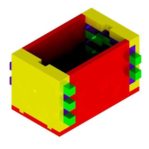 Main_Assy.jpg Télécharger fichier STL gratuit Boîte de casse-tête combinée • Modèle à imprimer en 3D, mtairymd