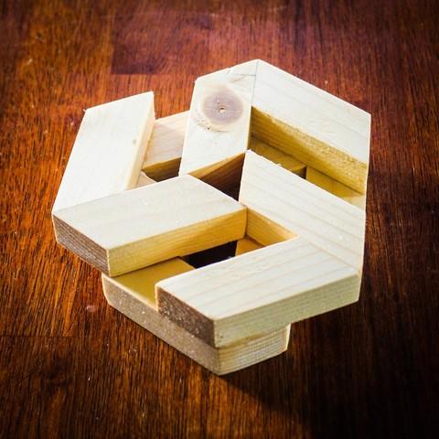 IMG_0154.jpg Télécharger fichier STL gratuit Puzzle hexagonal • Modèle pour imprimante 3D, mtairymd