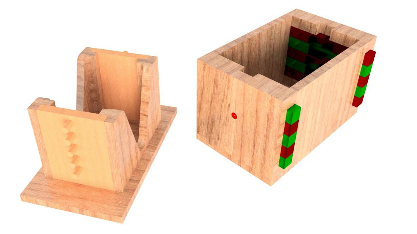 Top_Level_Assy_opened.jpg Télécharger fichier STL gratuit Boîte de casse-tête combinée • Modèle à imprimer en 3D, mtairymd