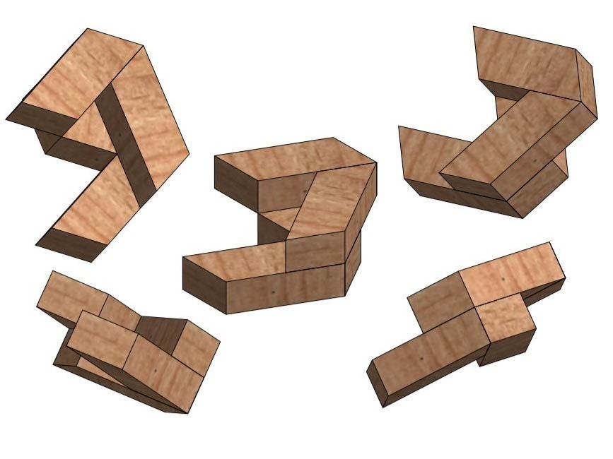6.jpg Télécharger fichier STL gratuit Puzzle hexagonal • Modèle pour imprimante 3D, mtairymd