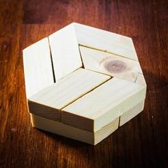 Télécharger fichier imprimante 3D gratuit Puzzle hexagonal, mtairymd
