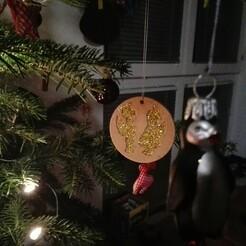 IMG_20201223_210616.jpg Télécharger fichier STL gratuit Les anges des décorations de Noël • Modèle pour impression 3D, Rayan2