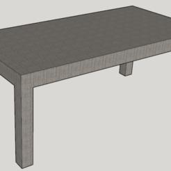 Descargar archivos 3D gratis Tabla de diseño, HB57
