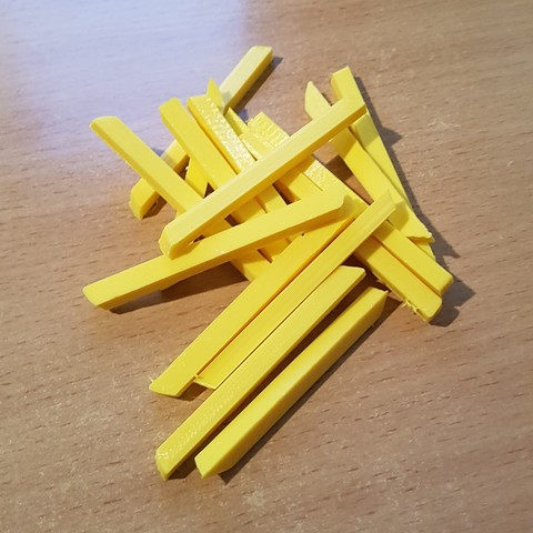 Download 3D printer designs Homemade French Fries, yalcars