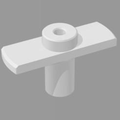 Fichier imprimante 3D Volant Robinet Radiateur Bakelite V2, yalcars