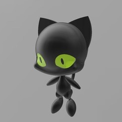 Plagg.JPG Download STL file Plagg - Miraculous • 3D print model, yalcars