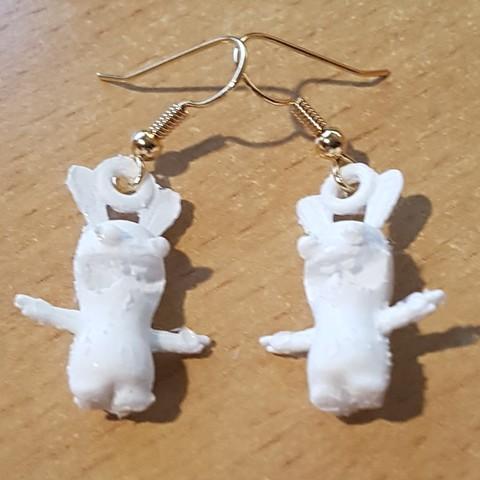 stl files Earring Pending Earring - Rabbit Cretin, yalcars