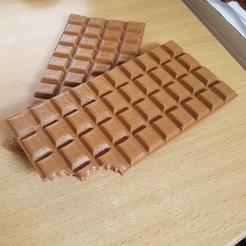 Archivos 3D Barra de chocolate, yalcars