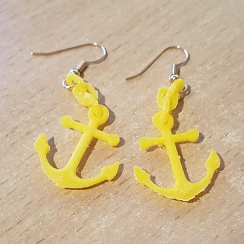 3d printer designs Pending Ear Loop - Anchor, yalcars