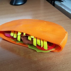3D printer files Kebab Meat Slice, yalcars
