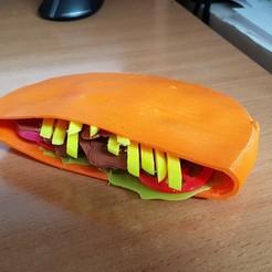 3D printing model Kebab Bread, yalcars