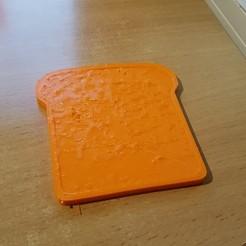 3D printer files Brioche slice, yalcars