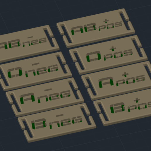 Download free 3D printing files Blood group tag - soft, Fabien774
