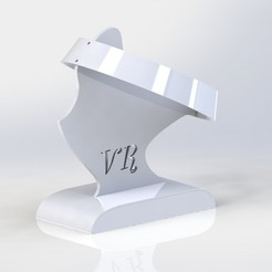 cerceau01.JPG Download STL file VR Helmet • 3D printing design, Chris48