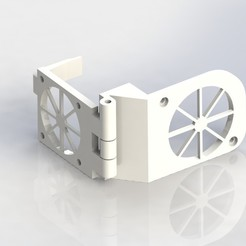 3D printer models AnetA8 turbine fan, Chris48