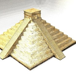 004.jpg Download OBJ file MAYA GOLD CITY • 3D printing design, Chris48