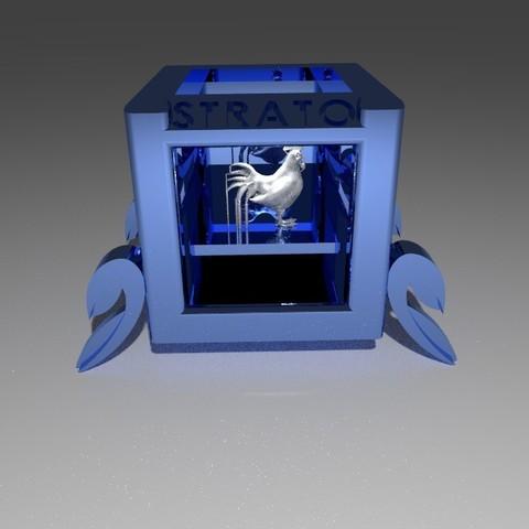 04.jpg Download free STL file STRATOMAKER DECO • 3D print model, Chris48