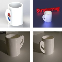Free 3D print files STRATOMAKER MUG, Chris48