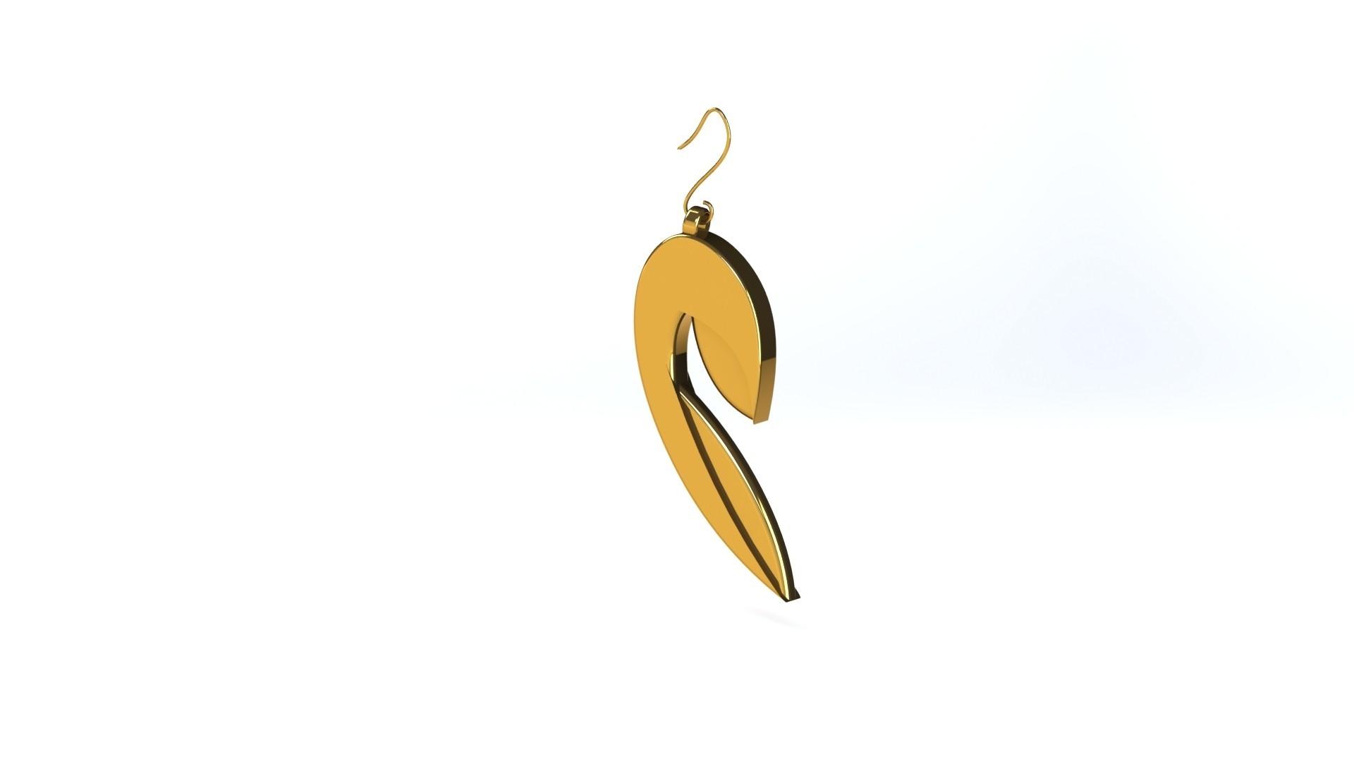 02.JPG Download STL file STRATOMAKER Earrings • Model to 3D print, Chris48