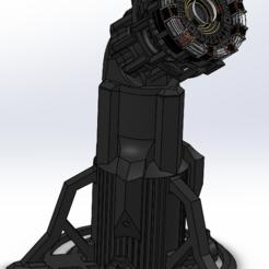 ARK_Stand_Principale.PNG Télécharger fichier STL ARK Reactor Stand Support • Design pour imprimante 3D, Lauris0329