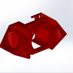 HotEnd Upgrade.png Download STL file Upgrade HotEnd Cooler for CR-10, Tronxy X3/X5-S • 3D printer template, Lauris0329