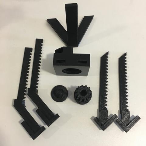 despiece 1.JPG Download free STL file Marco de fotos ajustable • 3D print design, rodvelz