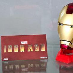 Download 3D printing designs Iron Man ALTAYA Helmet Holder, TomaSalza