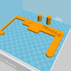 Capture d'écran (31).png Télécharger fichier STL Support GoPro central Traxxas SLASH • Modèle à imprimer en 3D, TomaSalza