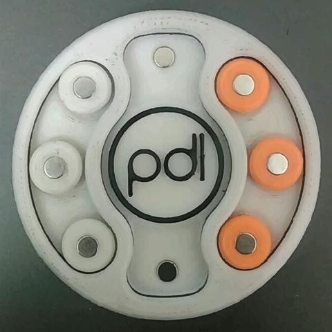 Télécharger fichier impression 3D gratuit Rota - Le jeu romain de Tic Tac Toe, PracticalDesignLaboratory