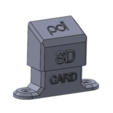 Free 3D model SD Card Holder For Aluminium Extrusion, PracticalDesignLaboratory