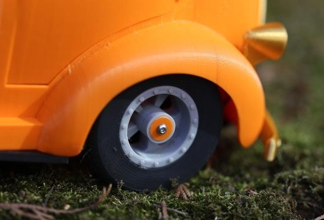 """스크린샷 2020-09-27 오후 5.05.17.jpg Télécharger fichier STL Impression 3D de la voiture RC """"Ford COE truck"""". • Design imprimable en 3D, limo"""
