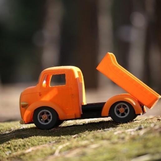 """스크린샷 2020-09-27 오후 5.04.46.jpg Télécharger fichier STL Impression 3D de la voiture RC """"Ford COE truck"""". • Design imprimable en 3D, limo"""