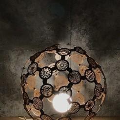 P20171215_145145520_15372F8A-1557-40D4-9226-E344556A1CEA.jpg Télécharger fichier STL Lampe d'ambiance aux motifs traditionnels de Corée • Plan pour impression 3D, limo