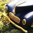 Download STL file RC CAR  willys classic , limo