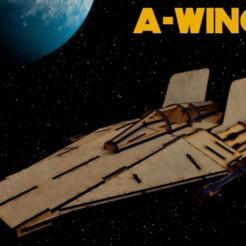 a-wing.png Download STL file Star Wars A-Wing Interceptor • 3D printer model, christian594