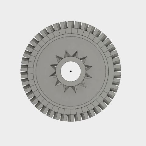Capture d'écran 2018-05-29 à 17.33.17.png Télécharger fichier STL gratuit Roue dentée double 12/42, engrenage • Modèle imprimable en 3D, Andrieux