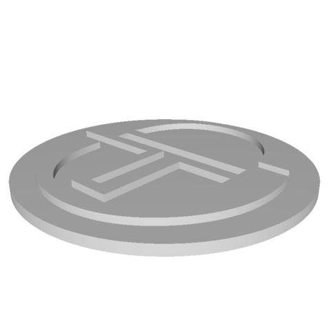Free STL takini logo, Andrieux
