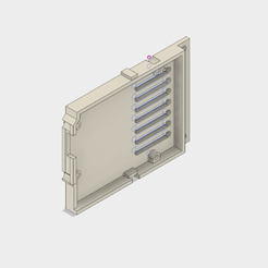 Free 3D model protective holder for arduino uno card, Andrieux