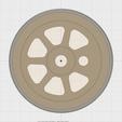 Capture d'écran 2018-05-27 à 22.22.37.png Download STL file train wheel, train wheel • 3D print template, Andrieux