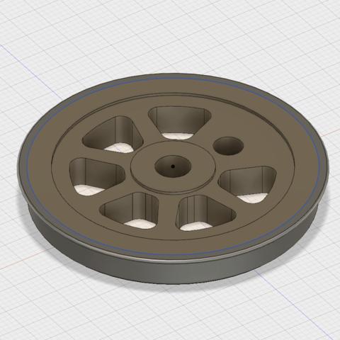 Capture d'écran 2018-05-27 à 22.24.20.png Download STL file train wheel, train wheel • 3D print template, Andrieux