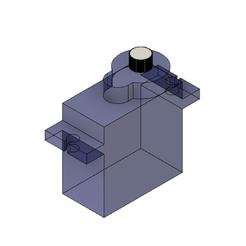 Archivos 3D gratis Servomotor SG90, Andrieux