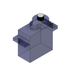Descargar archivo 3D gratis Servomotor SG90, Andrieux