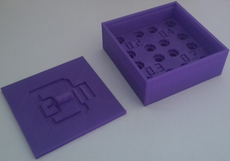 1.jpg Download free STL file Noozzle box • Template to 3D print, 3dm
