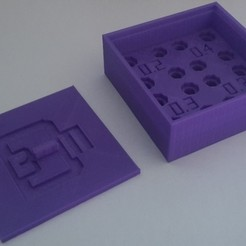 Free 3d printer model Noozzle box, 3dm