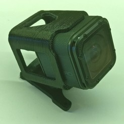 Impresiones 3D Astrox X5 gopro session full mount, Lefty9